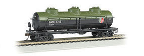 Bachmann 40 3-Dome Tank Car BAOX #3769 HO Scale Model Train Freight Car #17102