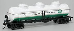 Bachmann 40 3-Dome Tank Quaker State HO Scale Model Train Freight Car #17137