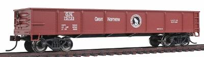 Bachmann 40' Gondola Great Northern -- HO Scale Model Train Freight Car -- #17211