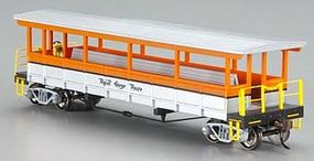 Bachmann Open-Sided Excursion Car Royal Gorge HO Scale Model Train Passenger Car #17435
