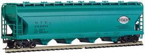 Bachmann 56 Center Flow Hopper NYC HO Scale Model Train Freight Car #17520