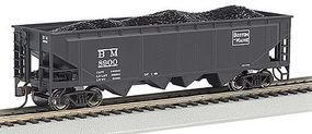Bachmann 40 Quad Hopper Boston & Maine HO Scale Model Train Freight Car #17644