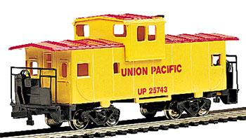 Bachmann 36' Wide Vision Caboose Union Pacific -- HO Scale Model Train Freight Car -- #17701
