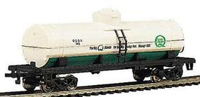 Bachmann 40 Single Dome Tank Quaker State HO Scale Model Train Freight Car #17837