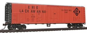 Bachmann 50 Steel Reefer Erie Lackwanna HO Scale Model Train Freight Car #17928