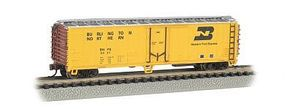 Bachmann ACF 50 Steel Mechanical Reefer Burlington Northern N Scale Model Train Freight Car #17951