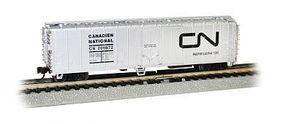 Bachmann ACF 50 Steel Reefer Canadian National N Scale Model Train Freight Car #17952