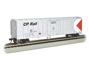 Bachmann ACF 50 Steel Mechanical Reefer - Ready to Run - Silver Series(R) Canadian Pacific #287217 (silver, red, white, Multimark Logo) - N-Scale