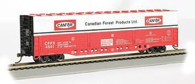 Bachmann Evans All Door Box Canadian Forest #4541 HO Scale Model Train Freight Car #18141