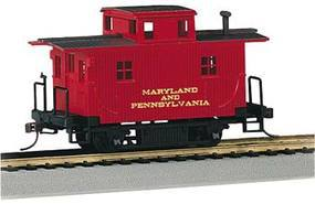 Bachmann Bobber Caboose Maryland & Pennsylvania HO Scale Model Train Freight Car #18439