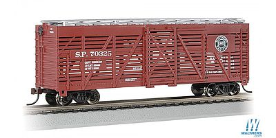 Bachmann 40' Stock Car Southern Pacific #70325 -- HO Scale Model Train Freight Car -- #18503
