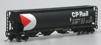 Bachmann Canadian Grain Hopper CP Rail 388500 -- HO Scale Model Train Freight Car -- #19129