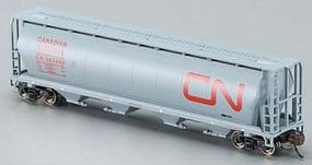 Bachmann 4-Bay Grain Hopper Canadian National N Scale Model Train Freight Car #19163