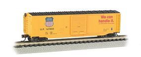 Bachmann 50 Sliding Door Box Union Pacific N Scale Model Train Freight Car #19455