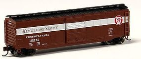 Bachmann 50 Sliding Door PRR Merchandise Service N Scale Model Train Freight Car #19457