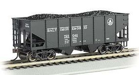 Bachmann 55 Ton 2-Bay USRA Outside Braced Hopper B&O #723 HO Scale Model Train Freight Car #19509