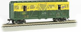 Bachmann Animated Stockcar Chicago & North Western HO Scale Model Train Freight Car #19703