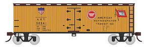 Bachmann 40 Wood Reefer American Refrigerator Transit Co. HO Scale Model Train Freight Car #19803