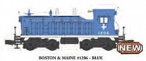 Bachmann NW-2 Diesel Boston & Maine #1206 with sound O Scale Model Train Diesel Locomotive #21650