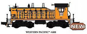 Bachmann NW-2 Diesel Western Pacific #608 with sound O Scale Model Train Diesel Locomotive #21653