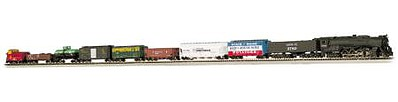 Bachmann Empire Builder Set ATSF -- N Scale Model Train Set -- #24009
