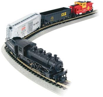Bachmann Yard Boss Set -- N Scale Model Train Set -- #24014