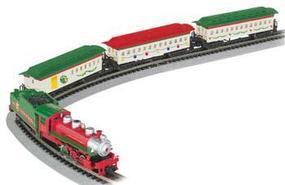 Bachmann Spirit of Christmas Train Set N Scale Model Train Set #24017