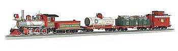 Bachmann Spec Yuletide Special Delivery Set -- On30 Scale Model Train Set -- #25022