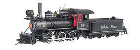 Bachmann 2-6-0 White Pass/Yukon #56 O Scale Model Train Steam Locomotive #25250