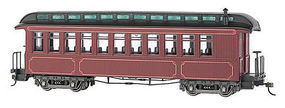 Bachmann Coach/Observation Lighted burgandy On30 Scale Model Train Passenger Car #26201