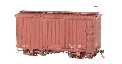 Bachmann 18' Freight Painted/Unlettered Boxcar -- O Scale Model Train Freight Car -- #26501