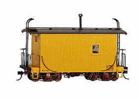 Bachmann Logging Cab yellow - On30-Scale