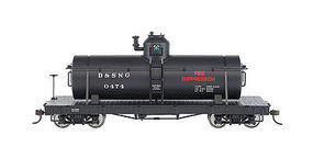 Bachmann Spec Tank-D&S #0474 Fire Suppression ON30 O Scale Model Train Freight Car #27122