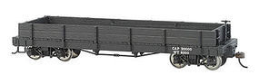 Bachmann On30 Gondola Data Black O Scale Model Train Freight Car #27298