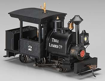 Bachmann Porter 0-4-2 w/DCC Tioga Lumber Co. #2 -- On30 Scale Model Trian Steam Locomotive -- #28259