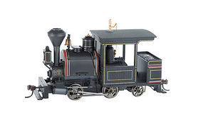 Bachmann Porter 0-4-2 w/DCC Painted, Unlettered On30 Scale Model Train Steam Locomotive #28261