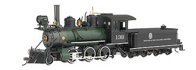 Bachmann 2-6-0 DCC on Brd DRGW - On30-Scale