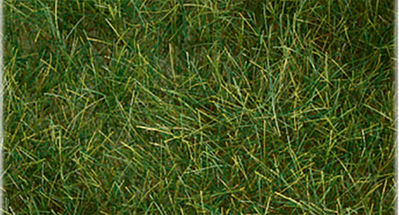 Bachmann 6mm Pull-Apart Static Grass Dark Green -- Model Railroad Scenery Ground Cover -- #31002