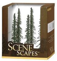 Bachmann Conifer Trees 5-6 (6) Model Railroad Scenery #32003
