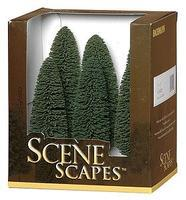 Bachmann Cedar Trees 5-6 (6) Model Railroad Scenery #32005
