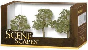 Bachmann Elm Trees 3-4 (3) Model Railroad Scenery #32008