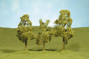 Bachmann Sycamore Trees 3-4 (3) Model Railroad Scenery #32009