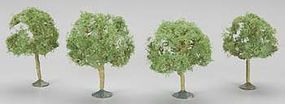 Bachmann 2.25-2.5 Inch Oak Trees (3) N Scale Model Railroad Scenery #32113