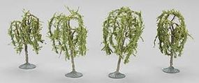 Bachmann 2.25-2.5 Inch Willow Trees (3) N Scale Model Railroad Scenery #32114