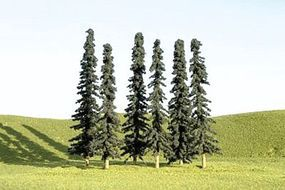 Bachmann 3-4 Inch Conifer Trees (36) N Scale Model Railroad Scenery #32155