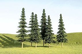 Bachmann 3-4 Inch Spruce Trees (36) N Scale Model Railroad Scenery #32157