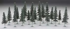 Bachmann 5-6 Inch Spruce Trees (24) HO Scale Model Railroad Scenery #32158