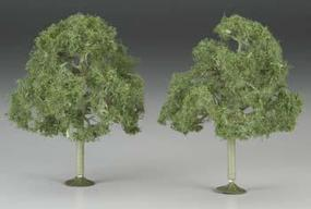 Bachmann 5 Inch Walnut Trees (2) O Scale Model Railroad Scenery #32207