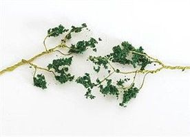 Bachmann Wire Foliage Branches Dark Green (60) Model Railroad Scenery #32646