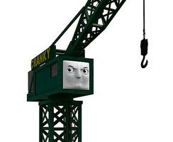 Bachmann Cranky The Crane HO Scale Thomas-the-Tank Electric Accessory #42444